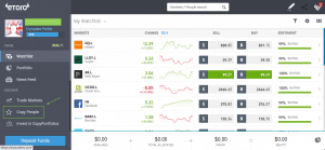 How to invest in eToro by copying other people's portfolios