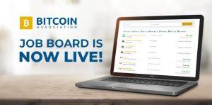 Bitcoin association job board
